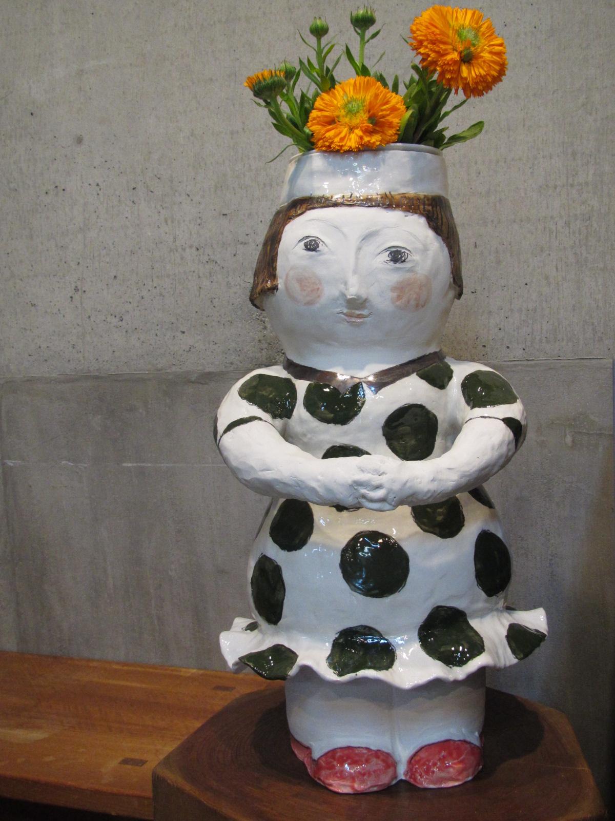 吉川千香子 はないっぱい花器展